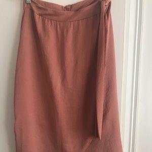 Dresses & Skirts - Faux wrap skirt